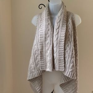 Loft Short Front- Long Back Sweater Vest